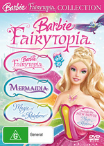Barbie - Fairytopia Collection (Fairytopia / Mermaidia / Magic Of The Rainbow) (3 Disc Set) on DVD