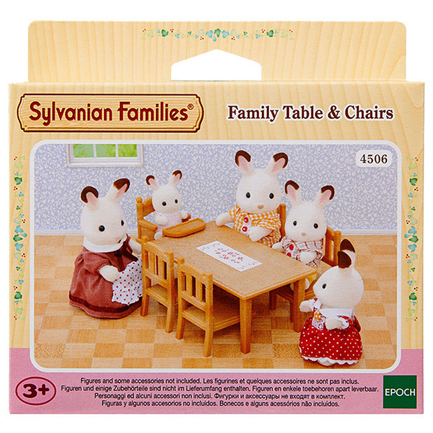 Sylvanian Families: Family Tables & Chairs image