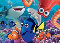 Holdson: 60pce Boxed Puzzle - Finding Dory Marine Life Institute