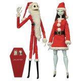 NBX: Santa Jack and Sally - Coffin Doll Set