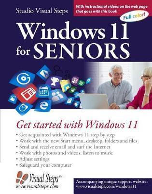 Windows 11 for Seniors by Studio Visual Steps