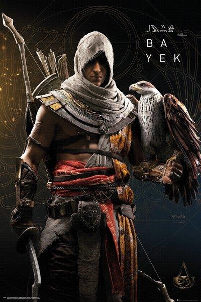 Assassins Creed Origins Bayek Maxi Poster 659 At Mighty Ape Nz