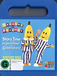 Bananas in Pyjamas Story Time/ Its Game Time/ Celeb on DVD image