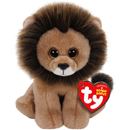 Ty Beanie Babies: Louie Lion - Small Plush