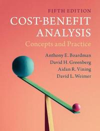 Cost-Benefit Analysis by Anthony E. Boardman