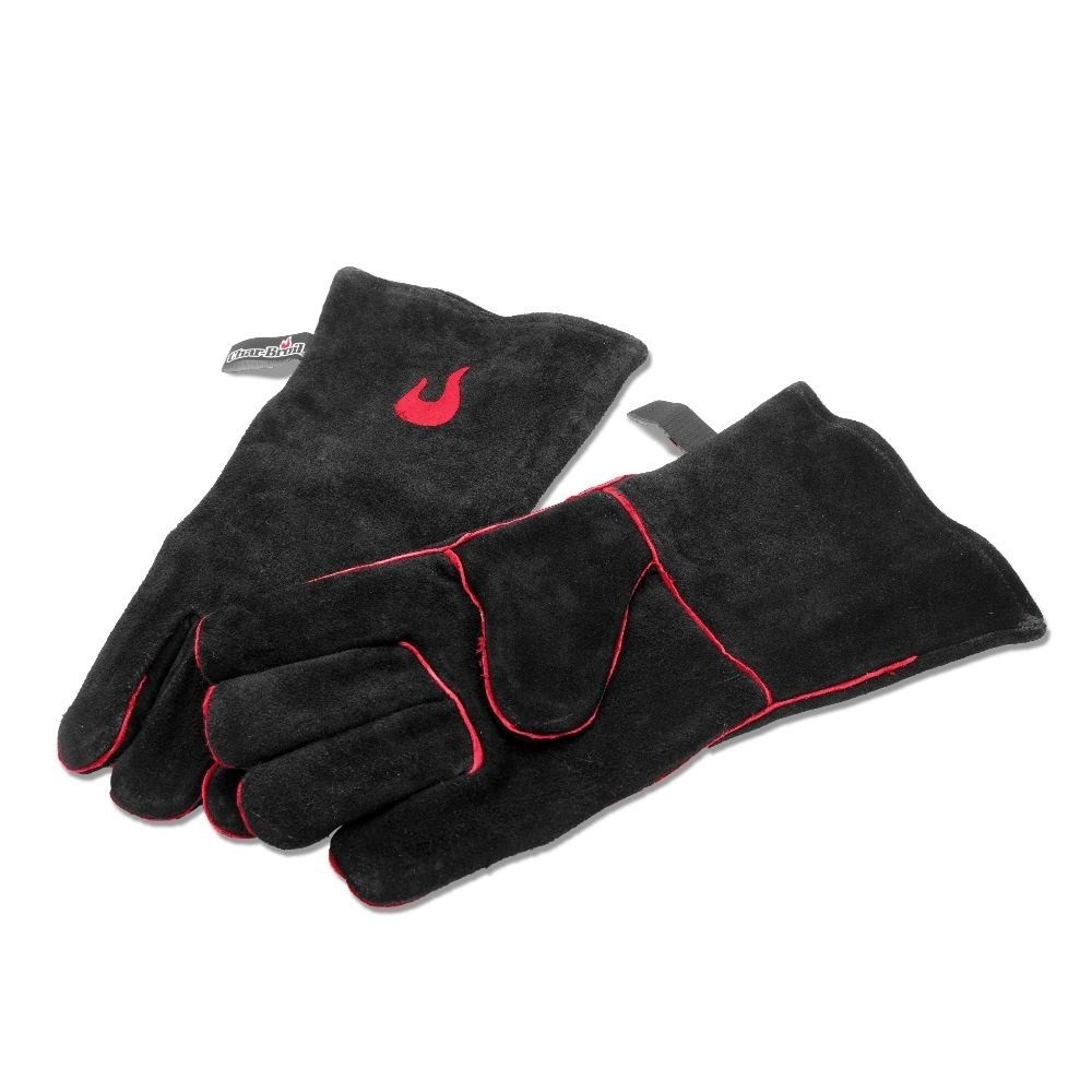Char-Broil High Heat Leather BBQ Gloves image