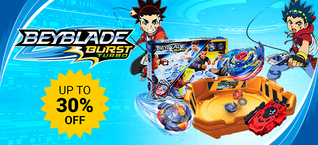 Up to 30% off select Beyblade!