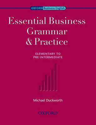Essential Business Grammar & Practice by Michael Duckworth image