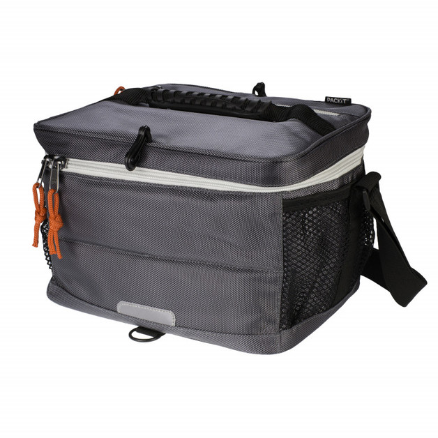PackIt: Freezable 18 Can Cooler - Charcoal