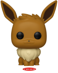 "Pokemon: Eevee – 10"" Super Sized Pop! Vinyl Figure"