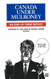 Canada Under Mulroney by Andrew B. Gollner image