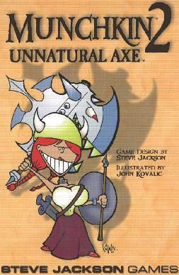 Munchkin 2: Unnatural Axe Expansion