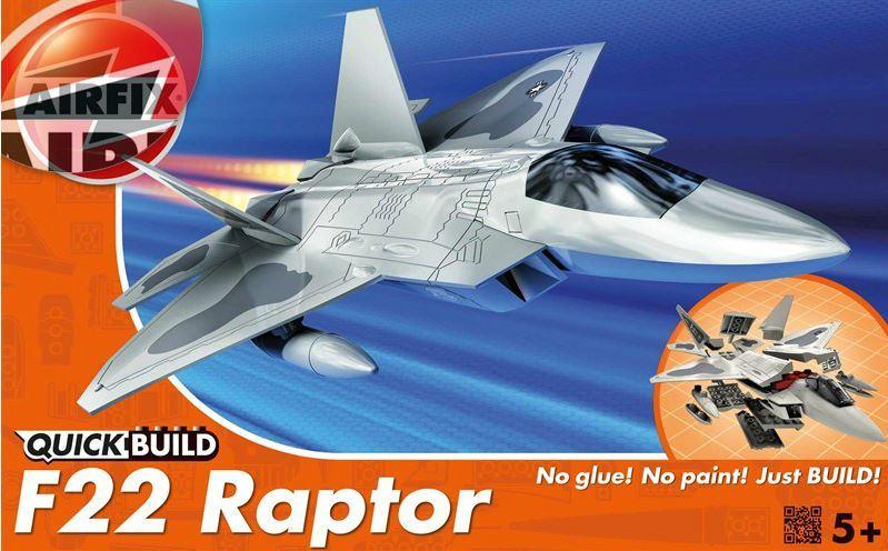 Airfix - Quickbuild F22 Raptor Model Kit image