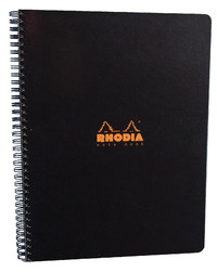 Rhodia Classic A4+ Notebook Microperf L&M - Black