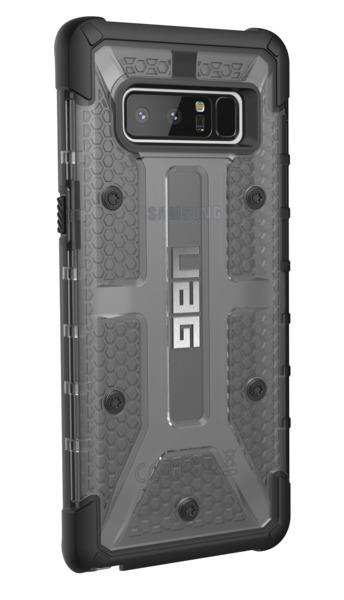 UAG Plasma Case for Galaxy Note 8 (Ash/Black) image