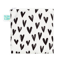 Bumkins: Large Snack Bag - Hearts