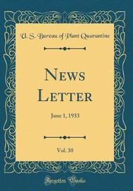 News Letter, Vol. 30 by U S Bureau of Plant Quarantine image