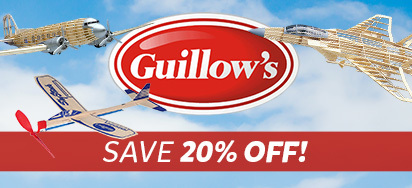 20% off Guillows!