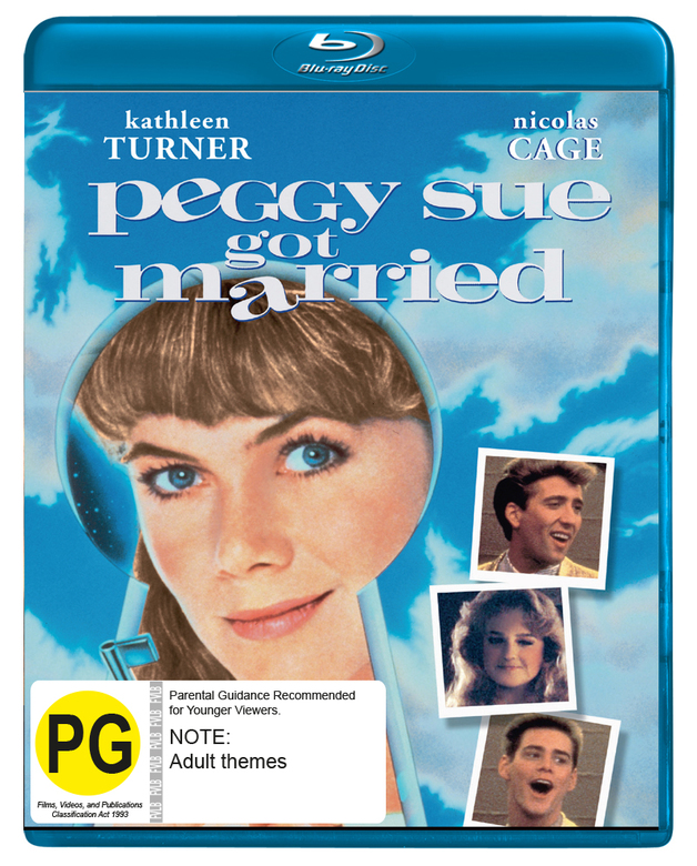 Peggy Sue Got Married on Blu-ray