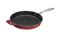 La Cuisine: Frypan S/ST Handle RED 26cm