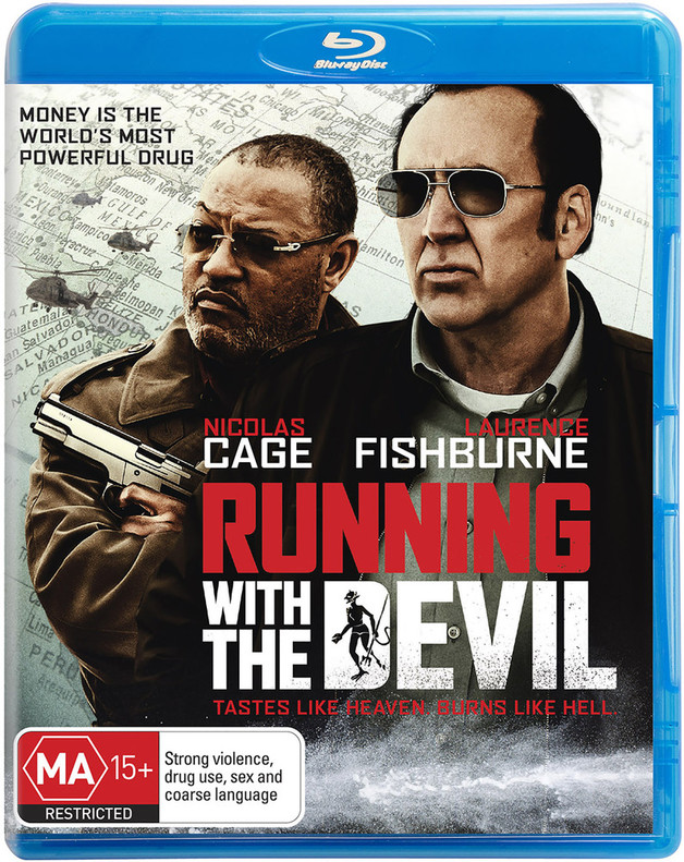 Running With The Devil on Blu-ray