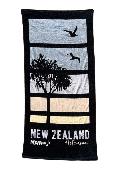 Moana Road: Beach Towel - Sunset