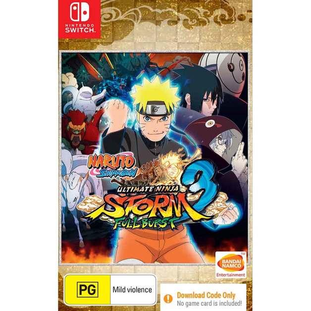 Naruto Shippuden: Ultimate Ninja Storm 3 Full Burst for Switch