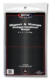 BCW: Digest or Manga Bags
