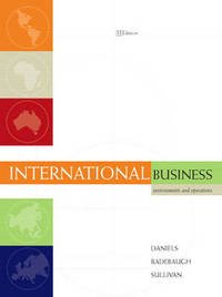 International Business: Environments and Operations by John Daniels image