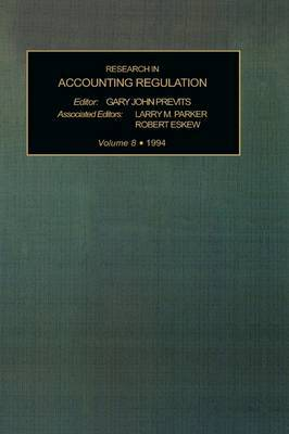 Research in Accounting Regulation: v. 8 image