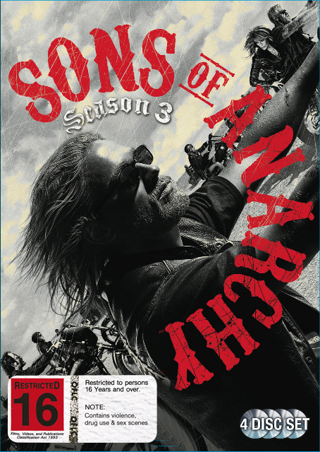 Sons of Anarchy - Season 3 on DVD