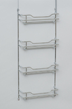 L.T. Williams - Narrow Chrome 4 Tier Spice Rack