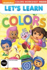 Nickelodeon: Lets Learn Colors on DVD image