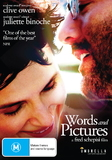 Words and Pictures DVD
