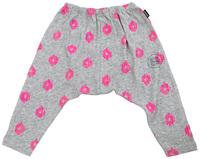 Bonds Slouchy Pants - Ikat Neo Fuchsia (3-6 Months)