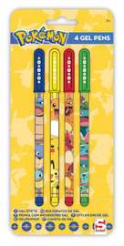 Pokemon Gel Pens (4-Pack)