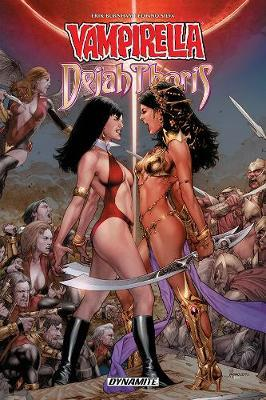 Vampirella / Dejah Thoris TPB by Erik Burnham