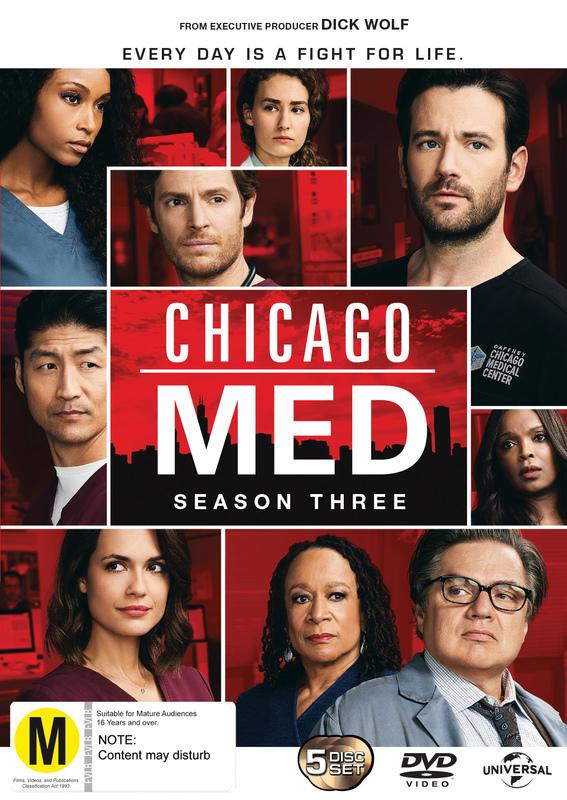 Chicago Med: Season 3 on DVD