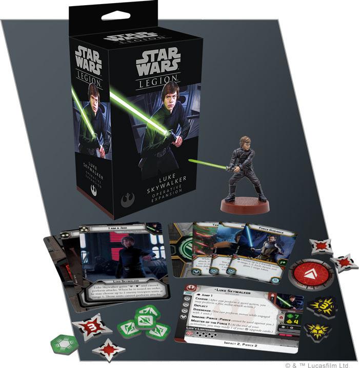Star Wars Legion: Luke Skywalker Operative Expansion image
