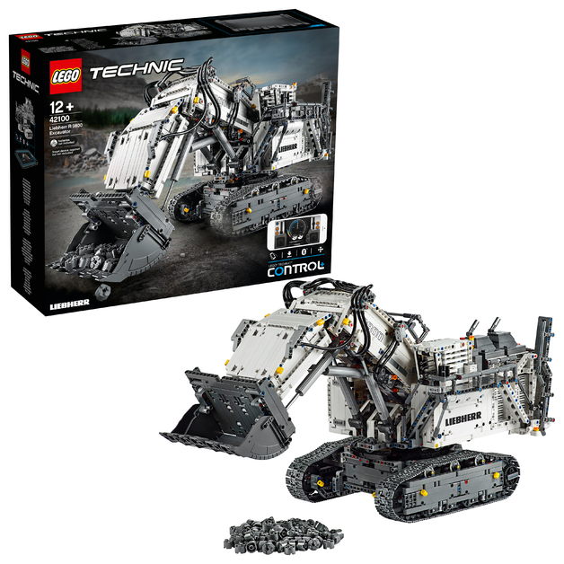 LEGO Technic - Liebherr R 9800 Excavator (42100)