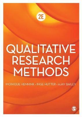 Qualitative Research Methods by Monique Hennink
