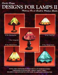 Designs for Lamps: Patterns for 22 Small to Medium Shades: No. 2 by Charles Knapp image