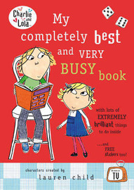 My Completely Best and Very Busy Book by Lauren Child image