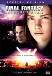 Final Fantasy: The Spirits Within on DVD