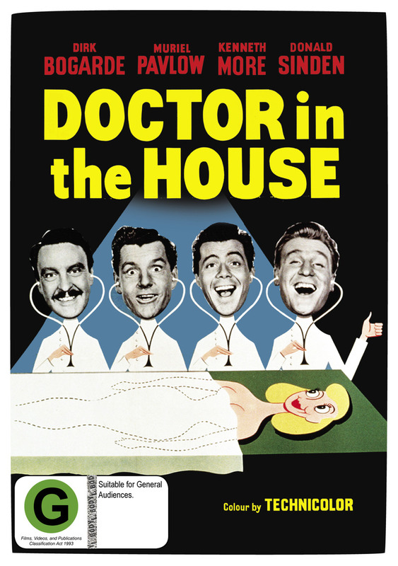 Doctor in the House on DVD