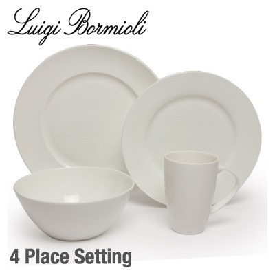 Luigi Bormioli Michelangelo Fine Bone China Dinnerset 16pc  sc 1 st  Mighty Ape & Luigi Bormioli Michelangelo Fine Bone China Dinnerset 16pc | at ...