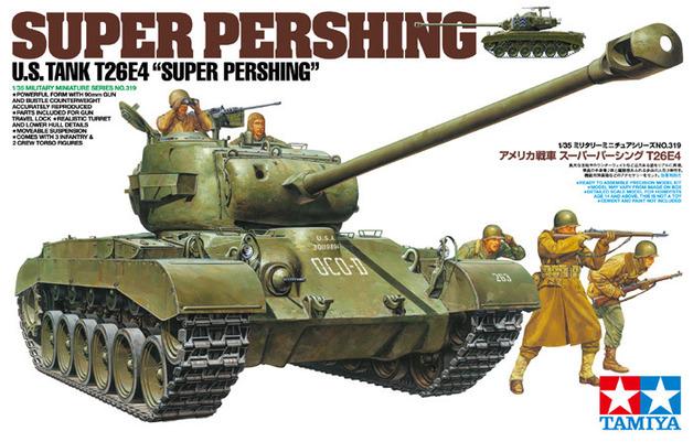 "Tamiya U.S. Tank T26E4 ""Super Pershing"" 1:35 Model Kit"