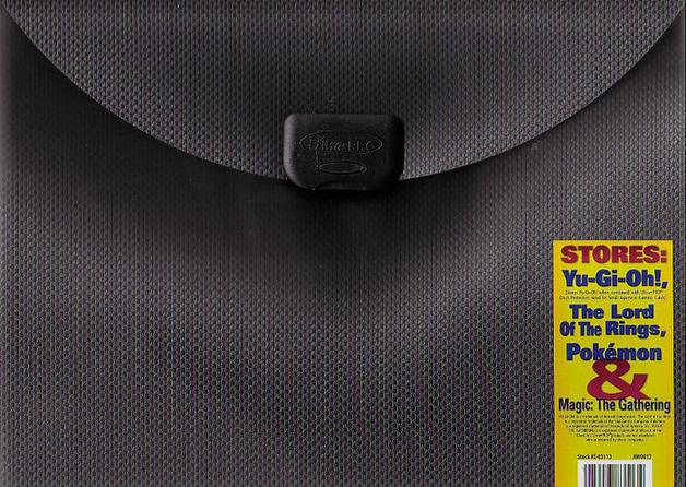 Ultra Pro - 9 Pocket E-Lock Album - Grey