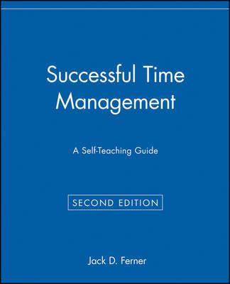 Successful Time Management by Jack D. Ferner