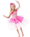 Fairy Girls - Sugarplum Princess Dress in Light Pink (Medium, age 4-6)